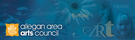 Allegan Area Arts Council logo