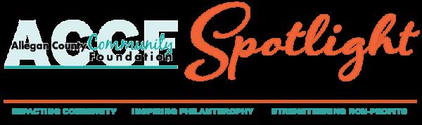 Allegan County Community Foundation Non-Profit Spotlight Logo