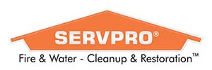 ServPro Fire & Water - Cleanup & Restoration Logo