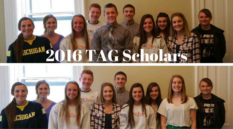 2016 TAG Team Scholars