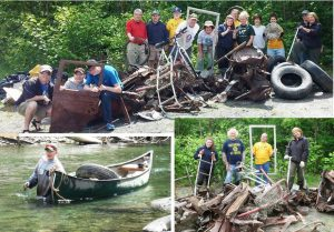 Organize a river clean up