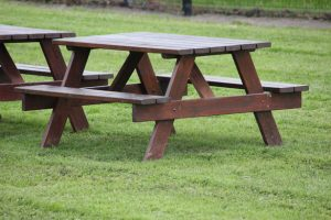Add a picnic table to a park
