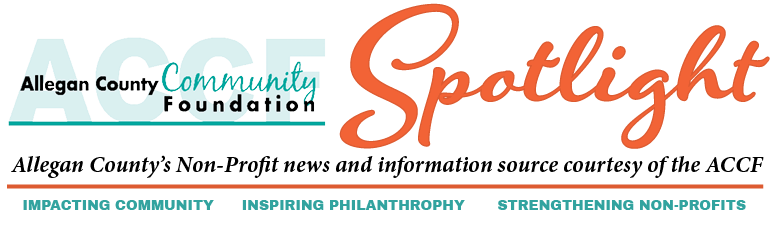 Allegan County Community Foundation Non-Profit Spotlight Logo