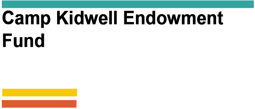 AGENCY - Camp Kidwell Endowment Fund