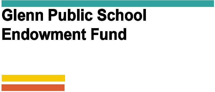 AGENCY - Glenn Public Schools Funds