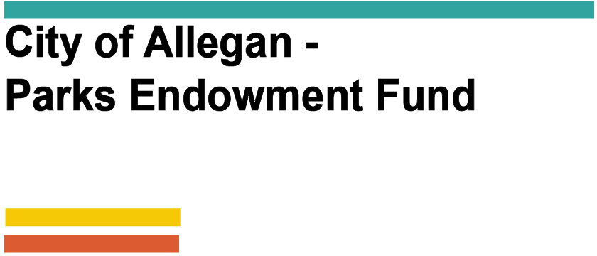 City of Allegan - Parks Endowment Fund Logo