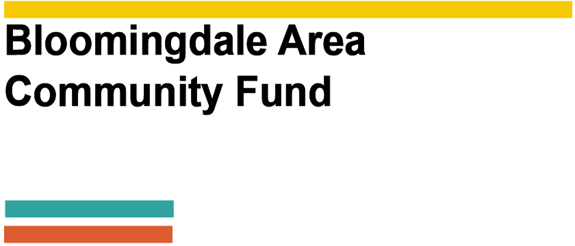 Bloomingdale Area Community Fund logo