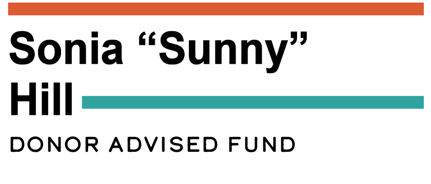 "Sonia ""Sunny"" Hill Donor-Advised Fund Logo"