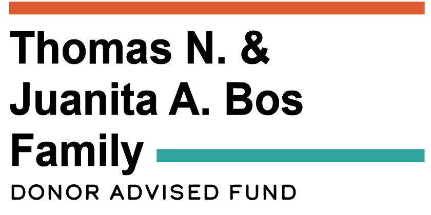 The Thomas N. and Juanita A. Bos Family Donor-Advised Fund Logo
