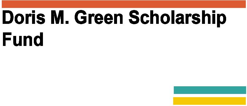 Doris M. Green Scholarship Fund logo