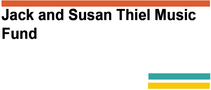 Jack and Susan Thiel Music Fund Logo
