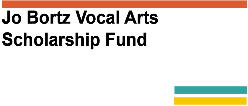 Jo Bortz Vocal Arts Scholarship Endowment FUnd Logo