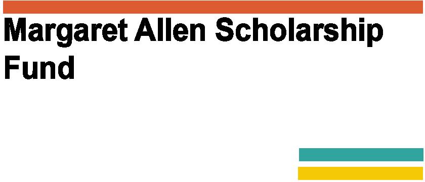 Margaret Allen Scholarship Fund Logo