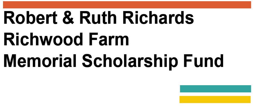 Robert & Ruth Richards Memorial Scholarship Fund Logo