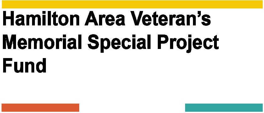 Hamilton Area Veteran's Memorial Special Project Fund Logo