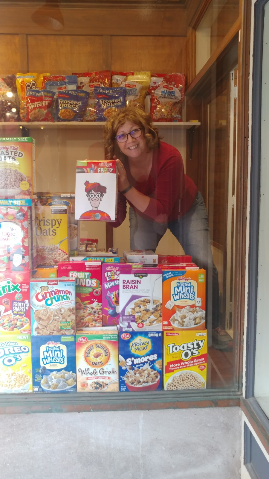 Jennifer with cereal