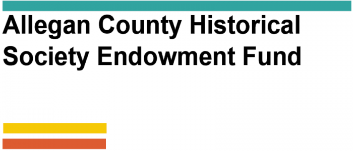 Allegan County Historical Society Endowment Fund logo