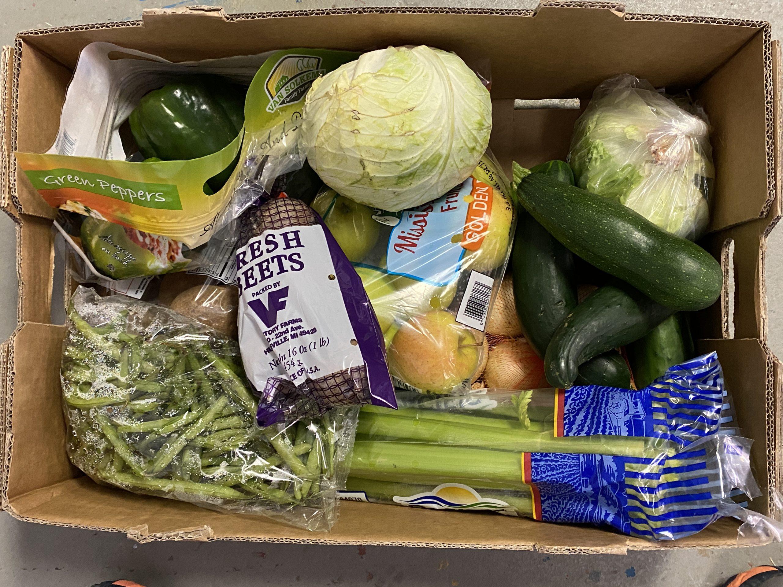 fresh produce boxes