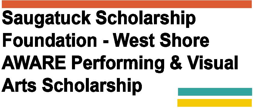 West Shore AWARE Performing & Visual Arts Scholarship logo